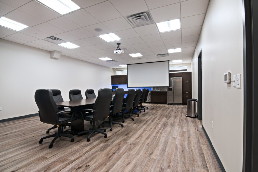 Shaw Orthodontics conference room